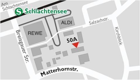 Praxis-Standort Heilpraktikerin Beate Brandt Berlin-Schlachtensee (Zehlendorf)